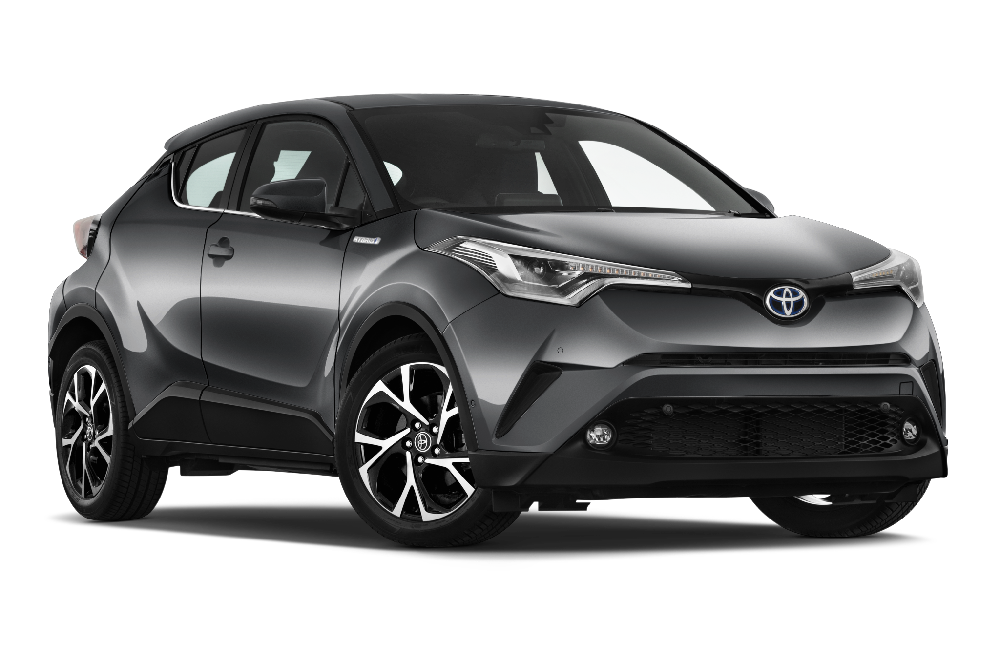Right Driver side wing mirror glass for Toyota C-HR 2016-On